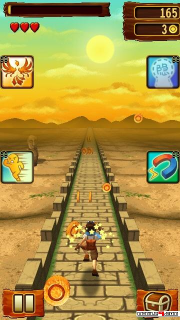 Temple Run 2 Java Game Nokia Symbian S60v5 S^3 Anna Belle 360×640